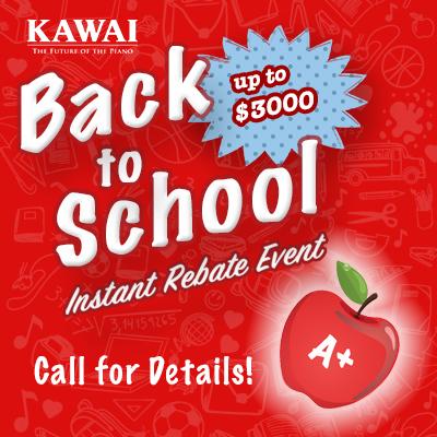 Kawai Back to School Special